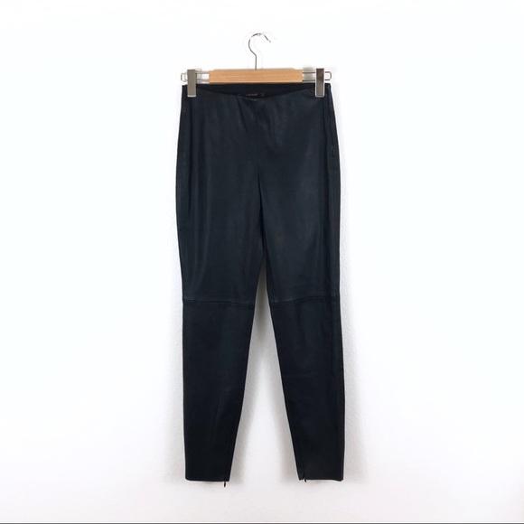 Zara Pants - Zara Basic Black Faux Vegan Leather Skinny Pants
